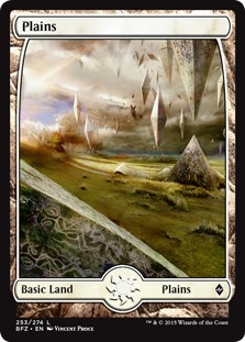 Plains - Battle for Zendikar, # 253 x 10 buc