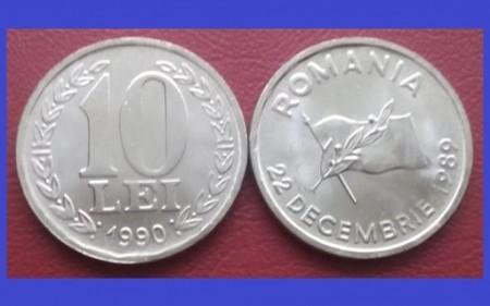 Romania 1990 - 10 lei UNC