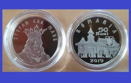 Romania 2019 - 50 bani, Putna-Stefan cel Mare, Proof