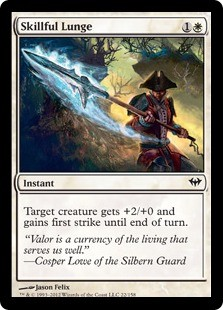 Skillful Lunge FOIL x4