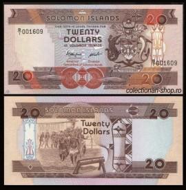 Solomon Islands 1986 - 20 dollars, necirculata
