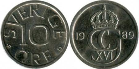 Suedia 1989 - 10 ore, circulata