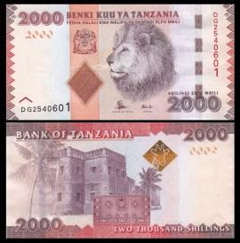 Tanzania 2015 - 2000 shilingi, necirculata