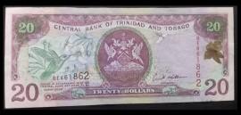 Trinidad and Tobago 2002 - 20 dollars, XF