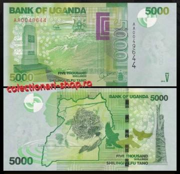 Uganda 2010 -  5000 shillings, necirculata