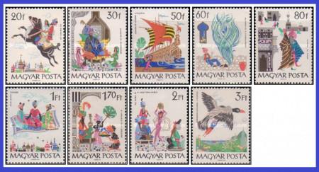 Ungaria 1965 - basme 1001 nopti, serie neuzata