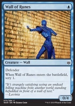 Wall of Runes x3