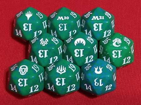 Zar verde cu 20 de fete