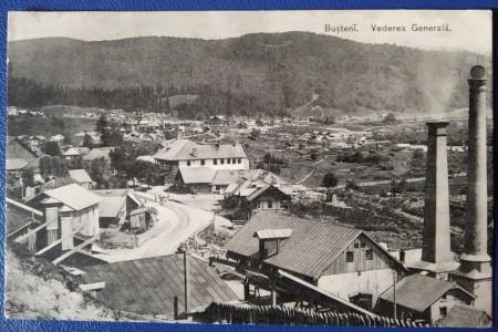 1916 - Bușteni, vedere circulata (jud.Prahova)