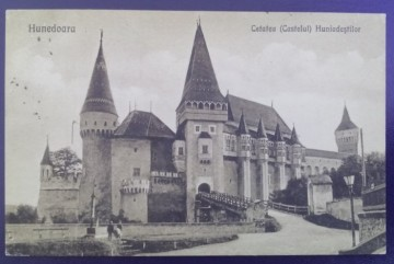 1922 - Hunedoara, castelul (jud. Hunedoara)