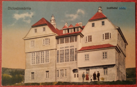 1924 - Tarnaveni, Institutul biblic (jud. Mures)