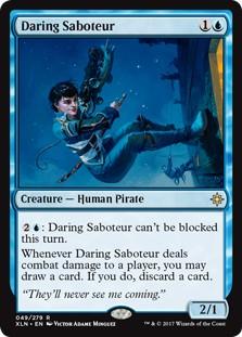 Daring Saboteur  x2