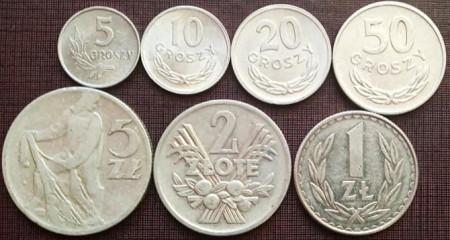 Polonia 1962-82 - set de aluminiu, stare buna