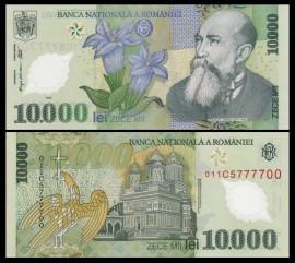 Romania 2000 - 10.000 lei, necirculata