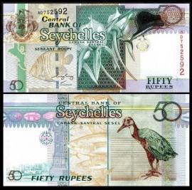 Seychelles 2004 -  50 rupees, necirculata