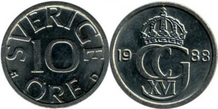 Suedia 1988 - 10 ore, circulata