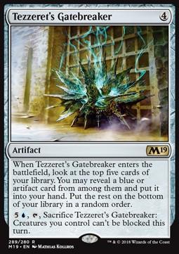 Tezzeret's Gatebreaker x2
