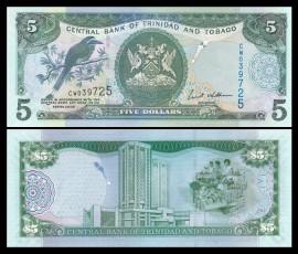 Trinidad and Tobago 2006 - 5 dollars, necirculata