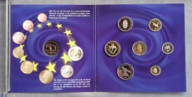 Ungaria 2007 - set monede proof in folder