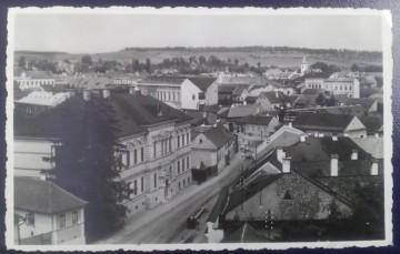 1918 - Reghin, vedere circulata (jud. Mures)