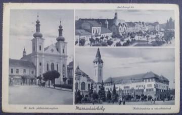 1941 - Targu Mures, mozaic, vedere circulata (jud. Mures)