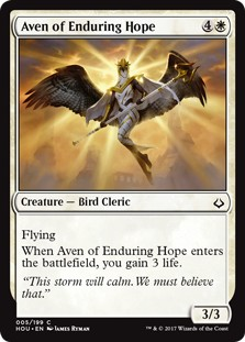 Aven of Enduring Hope   FOIL