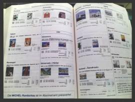 Catalog filatelic CEPT 2008, folosit
