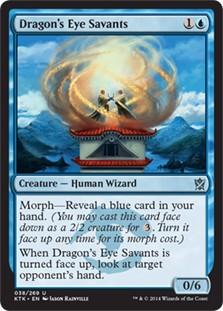 Dragon's Eye Savants FOIL