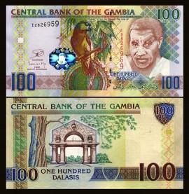 Gambia 2013 - 100 dalasis, necirculata
