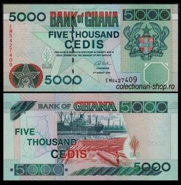 Ghana 2006 -  5000 cedis, necirculata