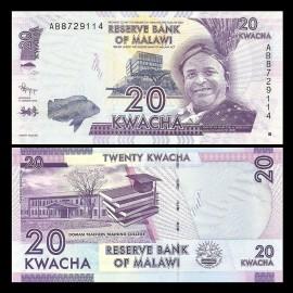 Poze Malawi 2012 - 20 kwacha, necirculata