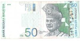 Malaysia 2000 - 50 ringgit, circulata