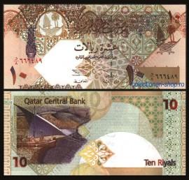 Qatar 2003 - 10 riyal, necirculata