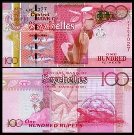 Seychelles 2011 - 100 rupees, necirculata