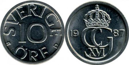 Suedia 1987 - 10 ore, circulata