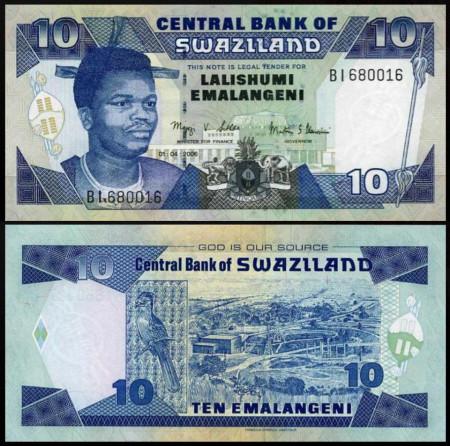 Swaziland 2006 - 10 emalangeni, necirculata