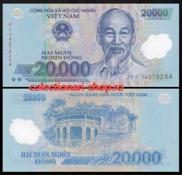 Vietnam 2014 - 20.000 dong, necirculata