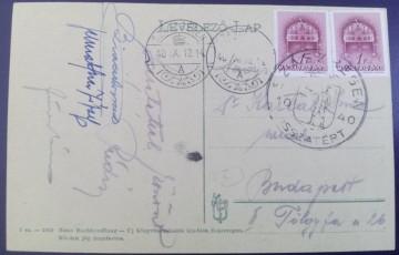 1940 - Reghin, vedere circulata (jud. Mures)