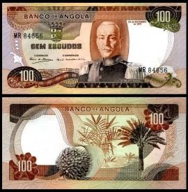 Angola 1972 - 100 escudos, necirculata