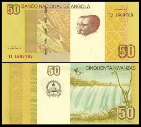 Angola 2012 - 50 kwanza, necirculata