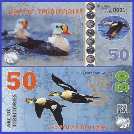 Antarctica 2017 - 50 dollars, necirculata