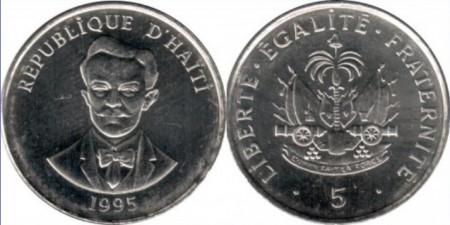 Haiti 1995 - 5 centimes, necirculata