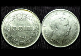 Romania 1943 - 100 lei, circulata