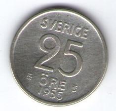 Suedia 1955 - 25 ore, argint
