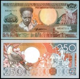 Surinam 1988 - 250 gulden, necirculata