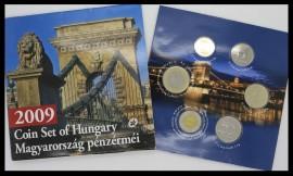 Ungaria 2009 - set monede proof in folder