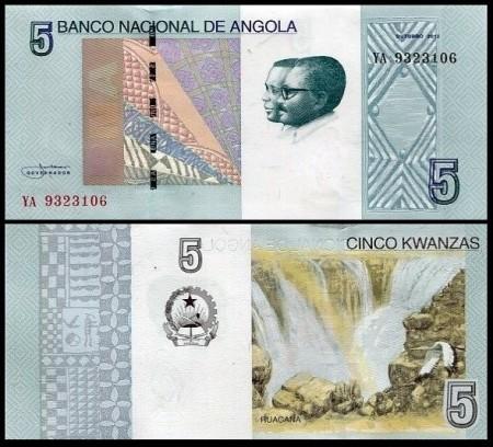 Angola 2012 -   5 kwanzas, necirculata