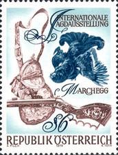 Austria 1978 - Expoziția internațională de vânătoare Marchegg, neuzata