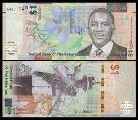 Bahamas 2017 - 1 dollar, necirculata