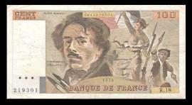 Franta 1979 - 100 francs, circulata